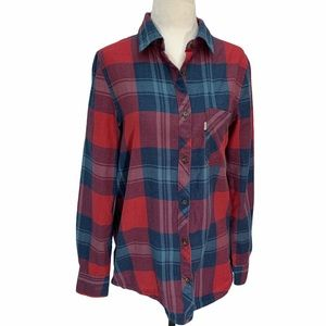 Tentree Flannel Button Down Shirt XS